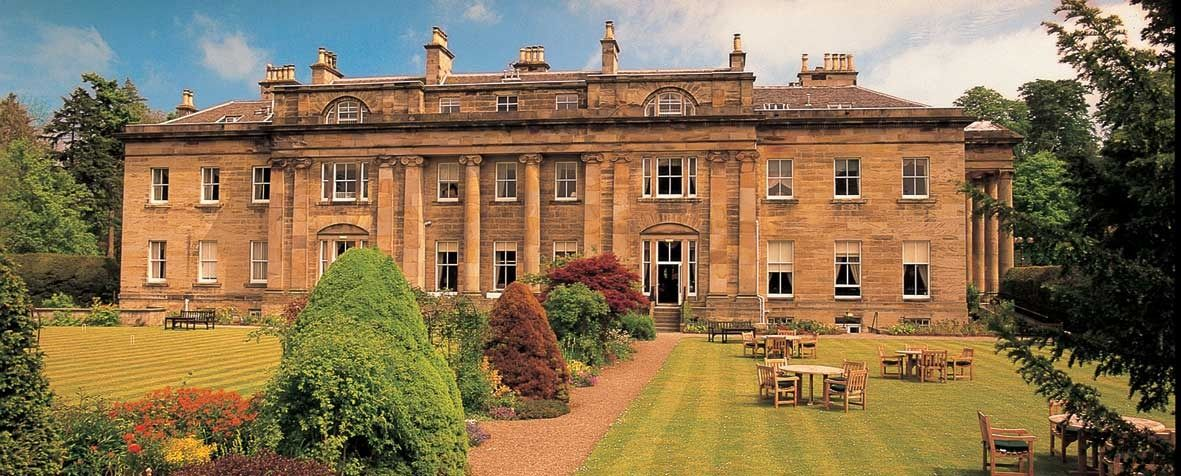 Luxury Hotels Scotland Uk Country House Near Edinburgh