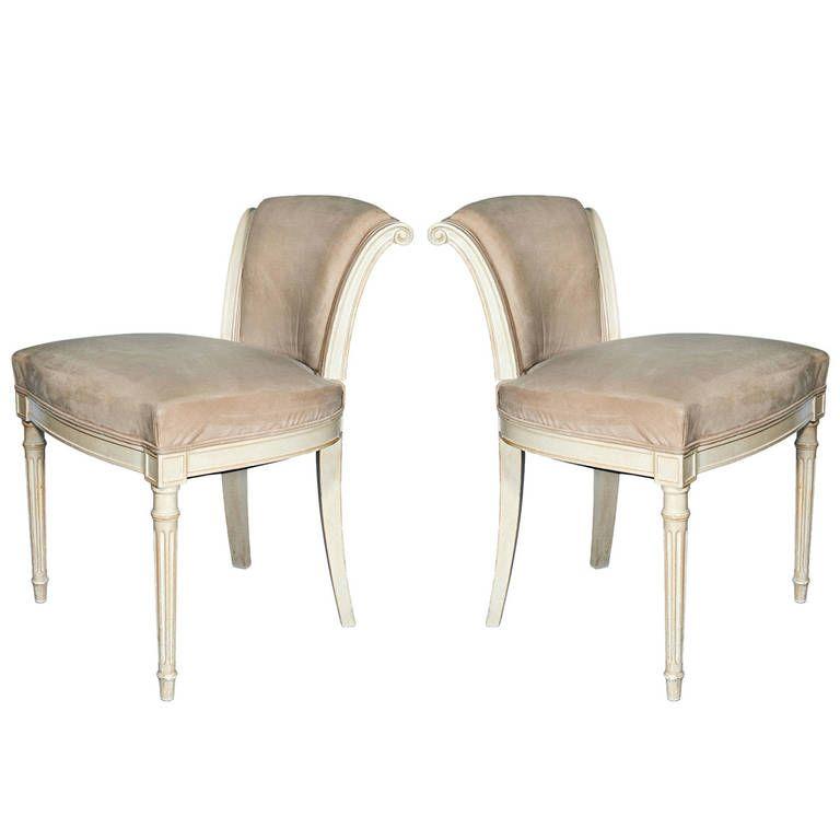 Pair of Louis XVI Chairs from Van Cleef