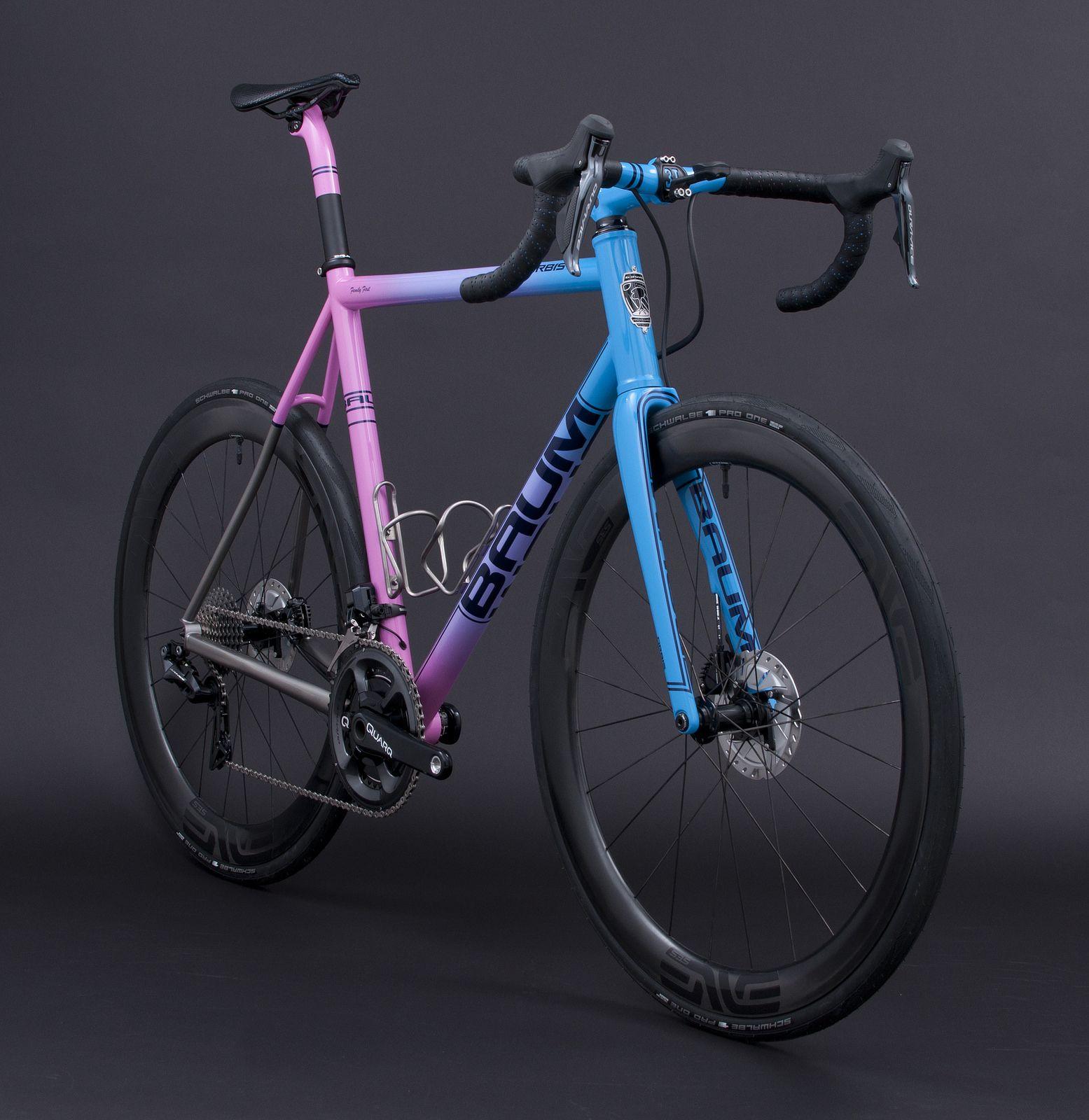Gth Solid Fade Hot Pink Purple Blue Sky Orbis Bicycle