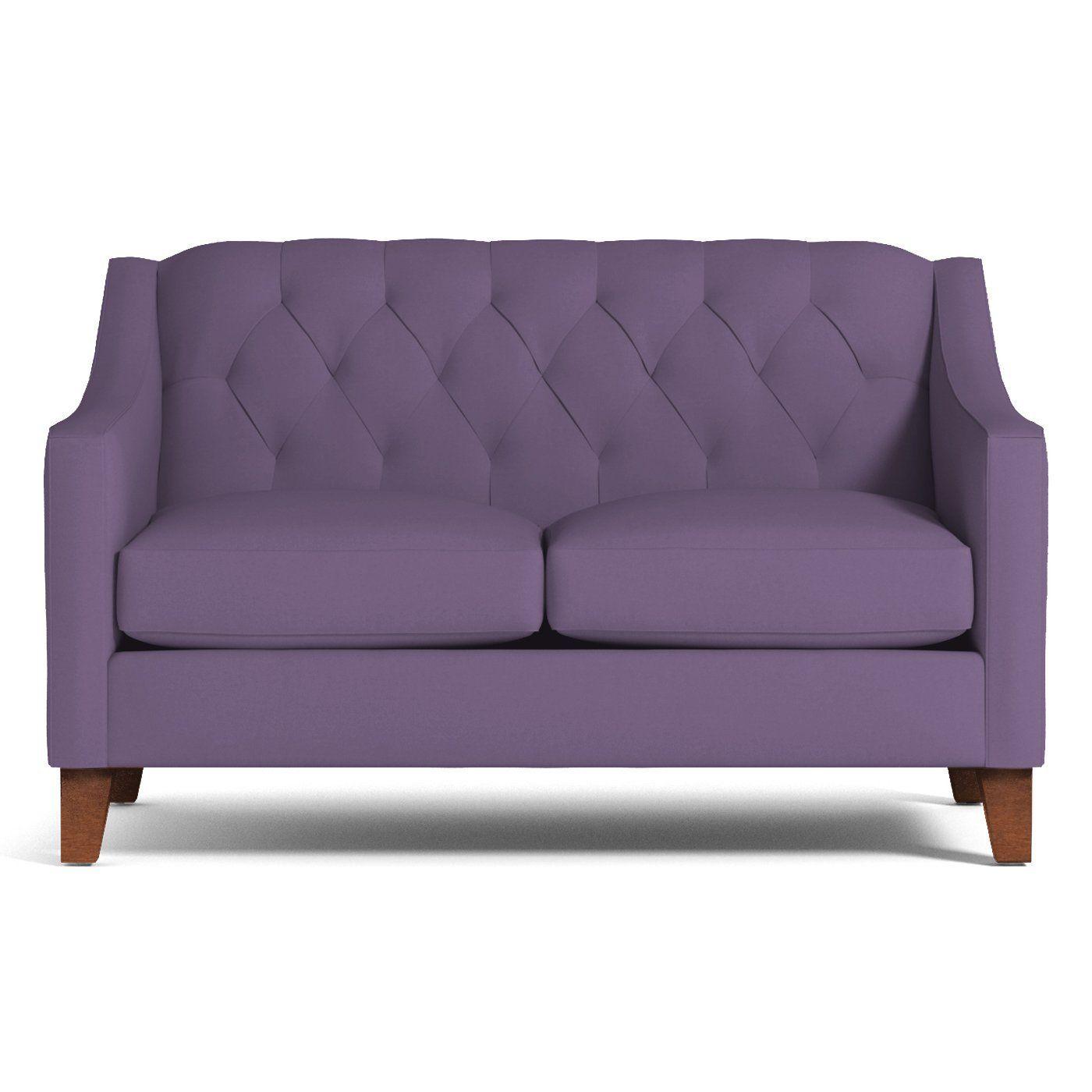 - Jackson Apartment Size Sofa :: Leg Finish: Pecan / Size: Apartment