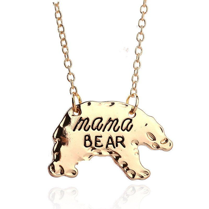 Premium Authentic 'Mama Bear' Necklace - FREE WORLDWIDE SHIPPING