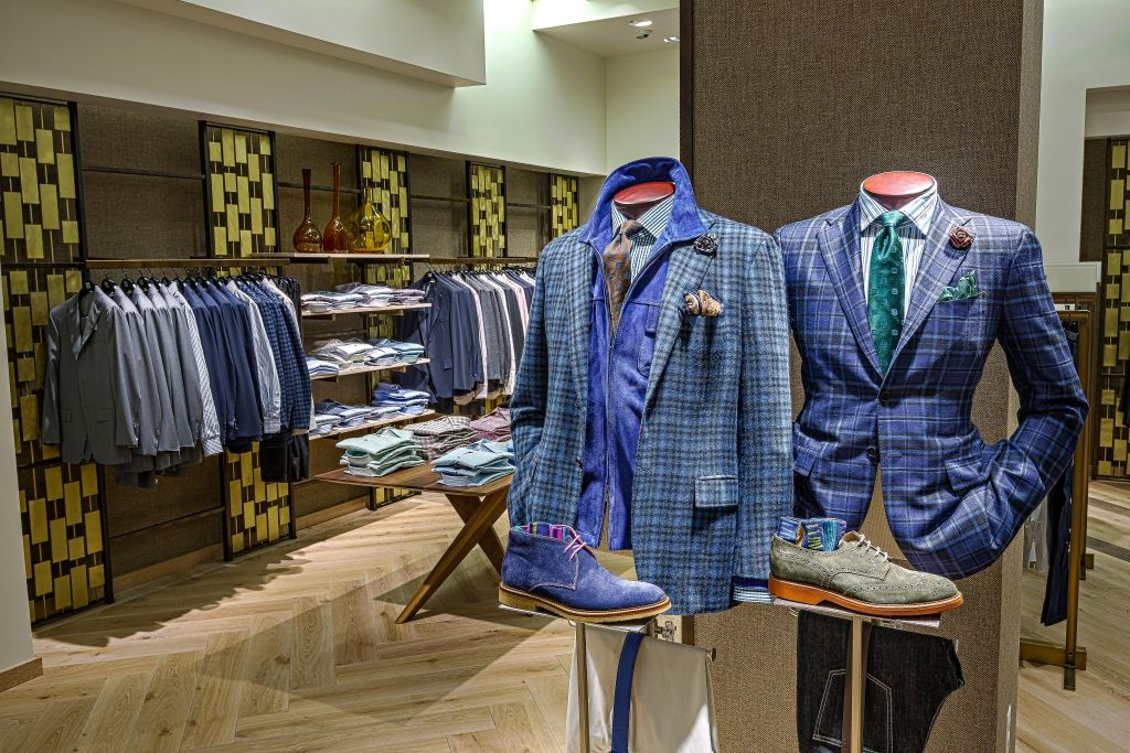 Saks Fifth Avenue created a new menswear concept in Chicago by moving the department across the street