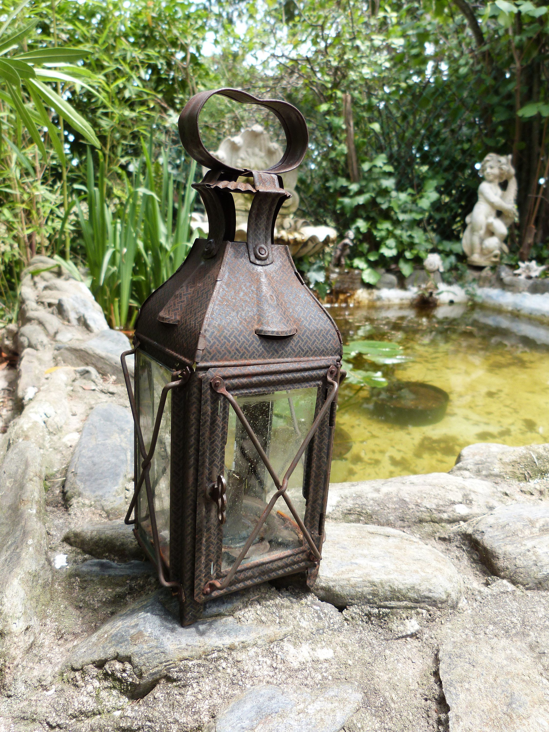 Antique French Primitive Hanging Candle Lantern Holder 1900s Etsy Outdoor Candle Lanterns Hanging Candle Lanterns Candle Lanterns