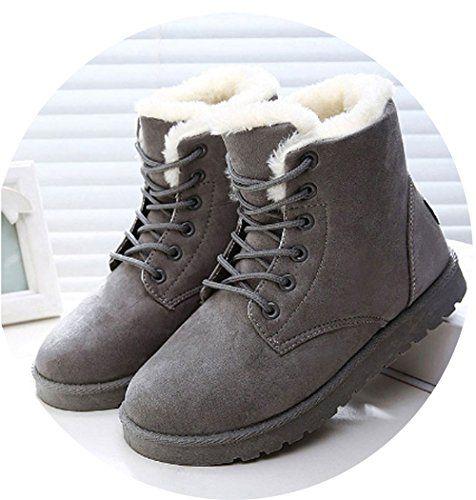 Snow boots women, Fur ankle boots