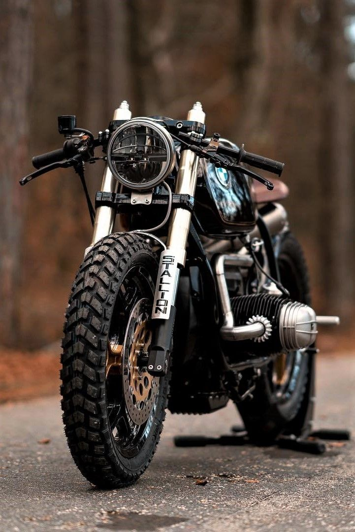 BMW Custom motorcycle in the wild – The MAN –   BMW Custom motorcycle in the wil…
