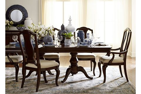 Orleans Dining Table  Havertys  Dining room  Dining