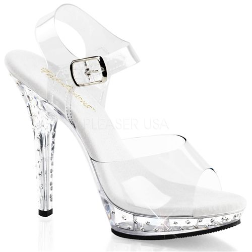 fd03957ffc6 Clear Fitness Competition Shoes - Clear High Heels | Bikini Pro ...