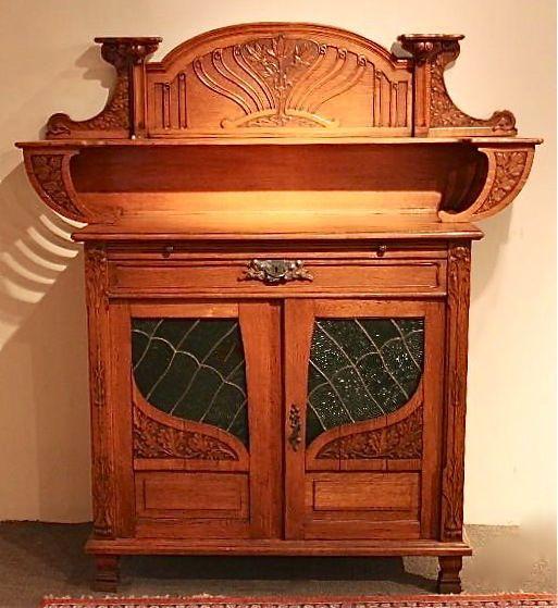 Art Nouveau Mueble aparador | Modernismo - muebles y decoración ...