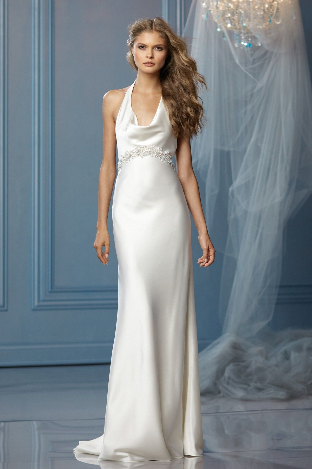 Old Hollywood chic ... WTOO Wedding Dresses - Style Lanai 10621 ...