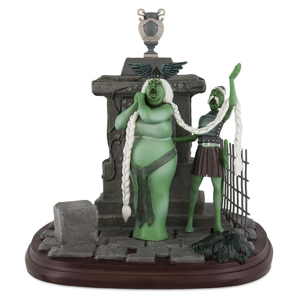 Disney Parks Opera Singers Figurine The Haunted Mansion Figurine New