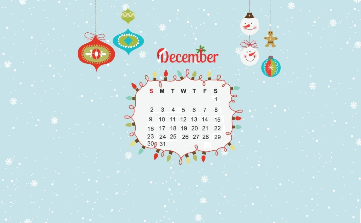 Desktop Calendar Wallpaper December 2019 Sweet December 2018 Calendar Wallpapers | Calendar 2018 | Calendar