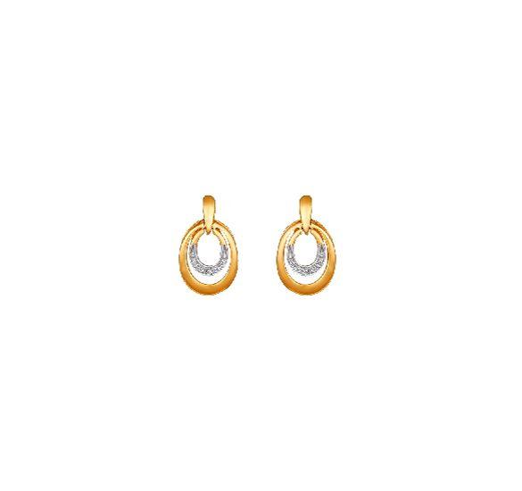 20d900c5d Tanishq Hoop Earrings for Women - 502011HDQAAA02 | jewelry | Jewelry ...