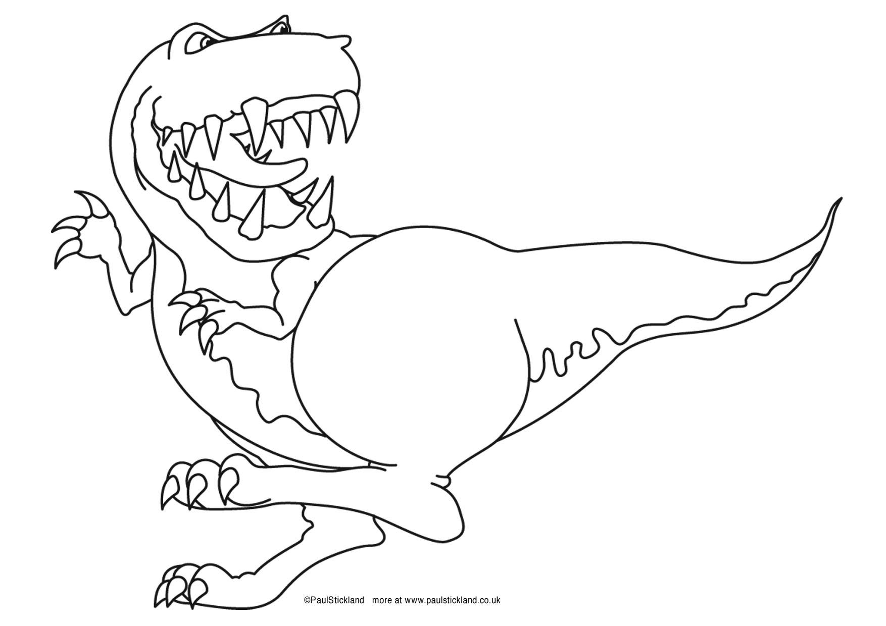 Free Dinosaur Colouring Pages And Downloads From Paul Stickland S Dinosaur Roar And Ten