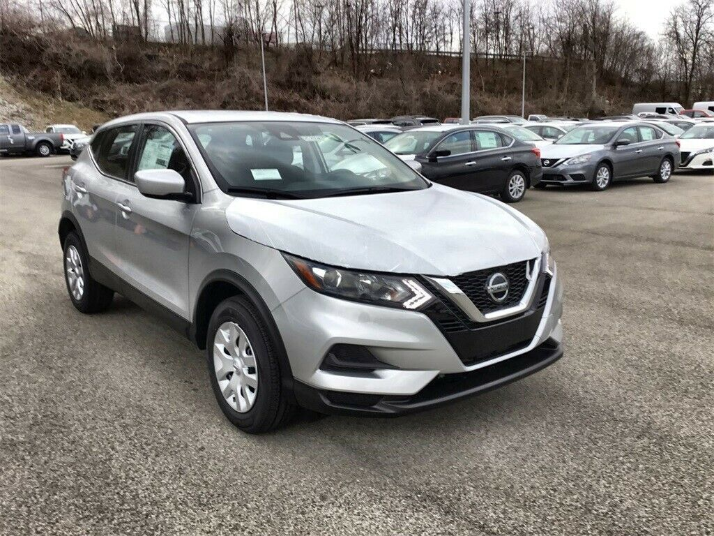 Used 2020 Nissan Rogue S Brilliant Silver Metallic Nissan