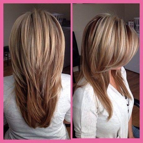 Lange Glatte Haare Stufen Haarschnitt Stufig Tollestufenschnitte