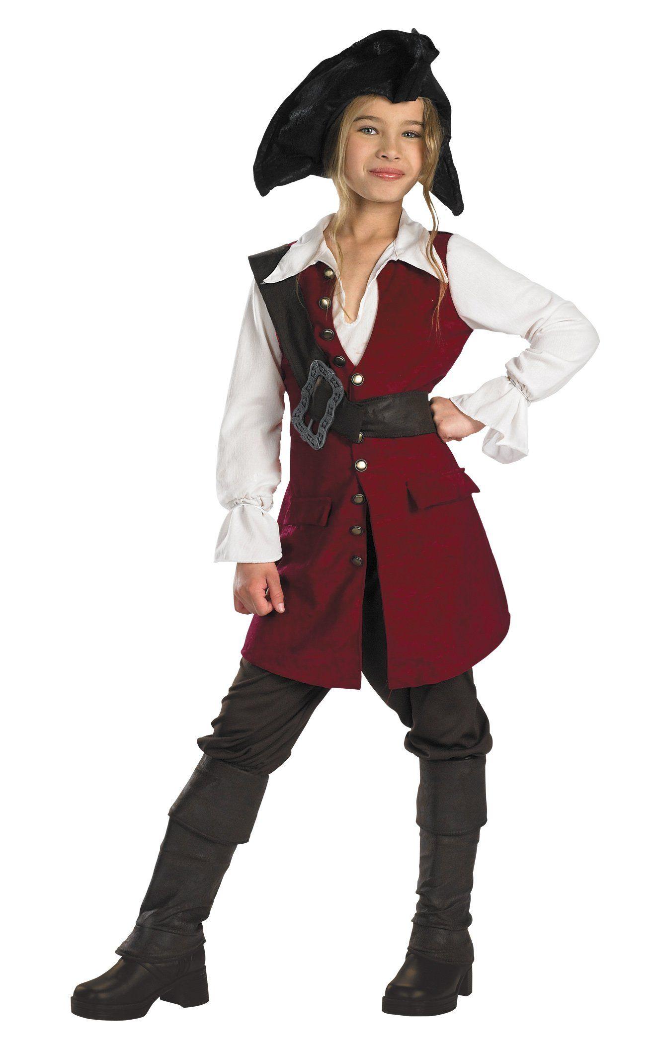 Pirates of the Caribbean - Captain Jack Sparrow Prestige Child Costume  sc 1 st  Pinterest & Pirates of the Caribbean - Captain Jack Sparrow Prestige Child ...