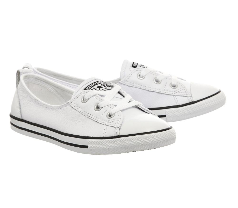 Converse Ctas Ballet Lace Leather White
