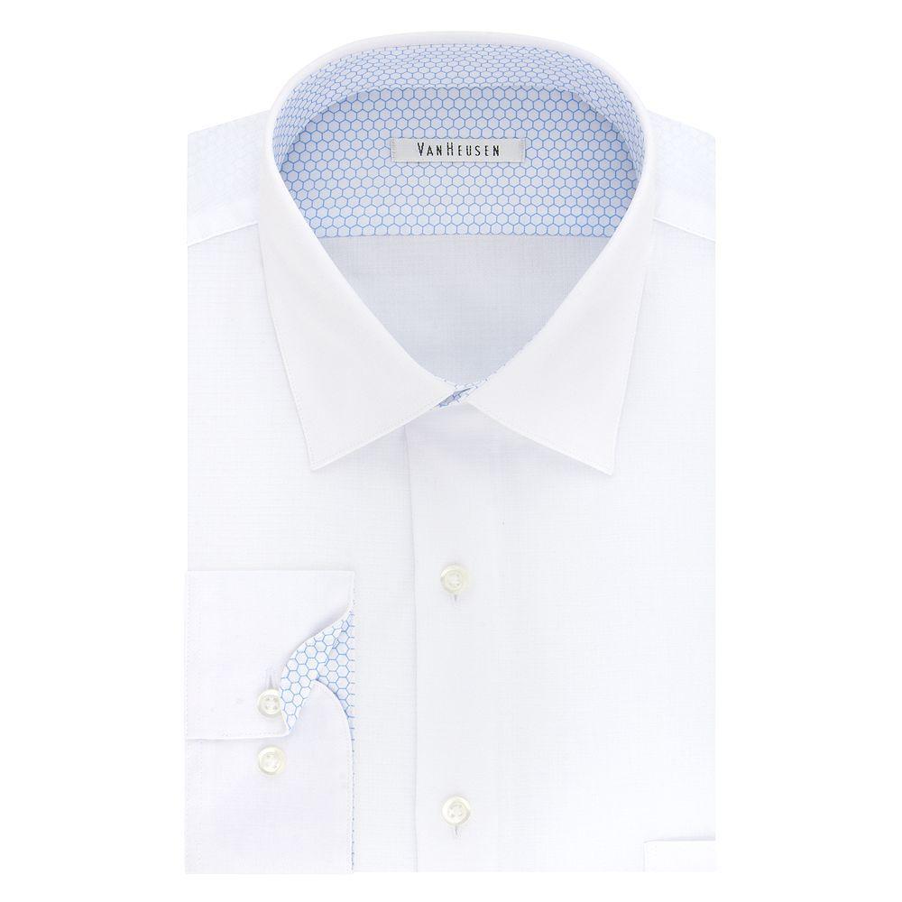 Men S Van Heusen Air Regular Fit Stretch Dress Shirt Shirt Dress Long Sleeve Shirt Dress Shirts