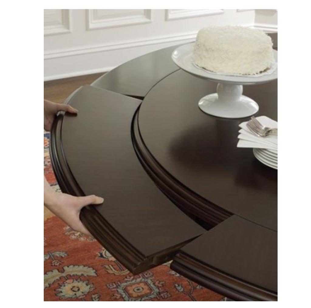 Information Brownstone Furniture Sienna Round Dining Table