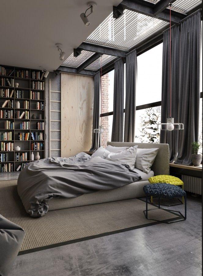 Un loft minimaliste à Moscou