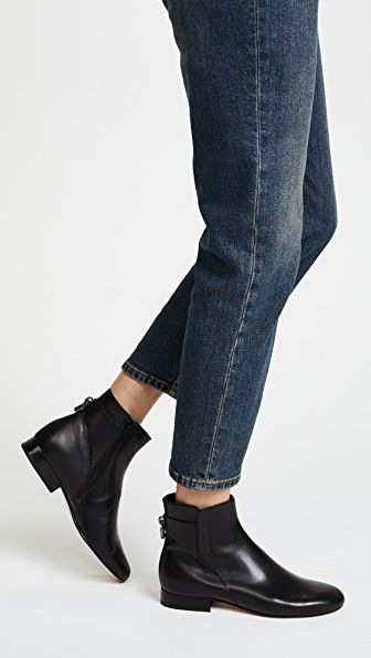 140300d064f54 Mira Flat Ankle Booties | Michael Kors | Ankle booties, Booty, Flats
