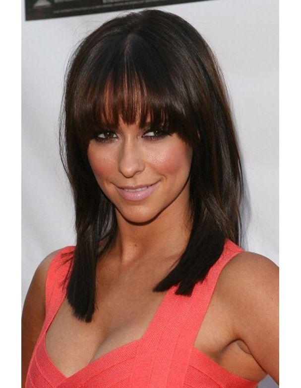 Carr long d grad frange 607 780 hair style pinterest coiffures coiffure couleur - Coupe longue degradee avec frange ...