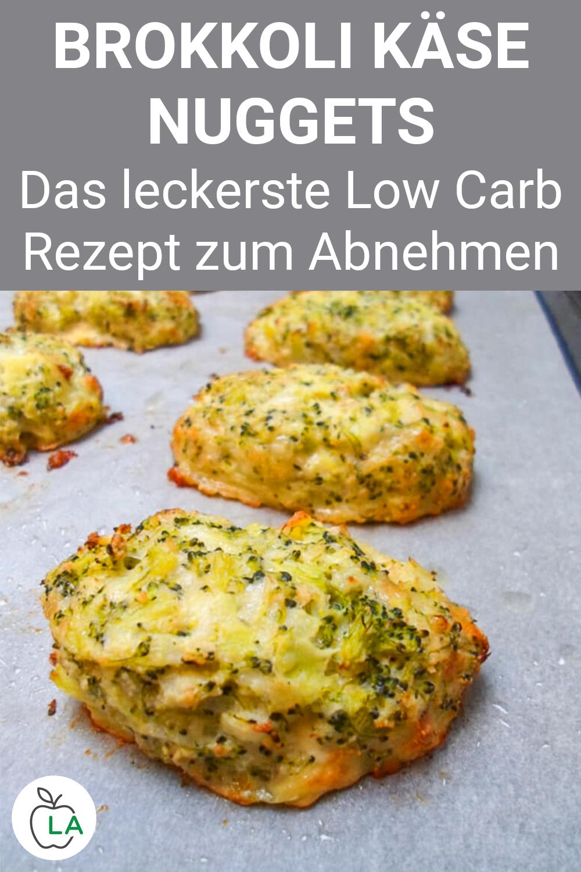 Brokkoli Käse Nuggets - Eines der besten Low Carb Rezepte für abends