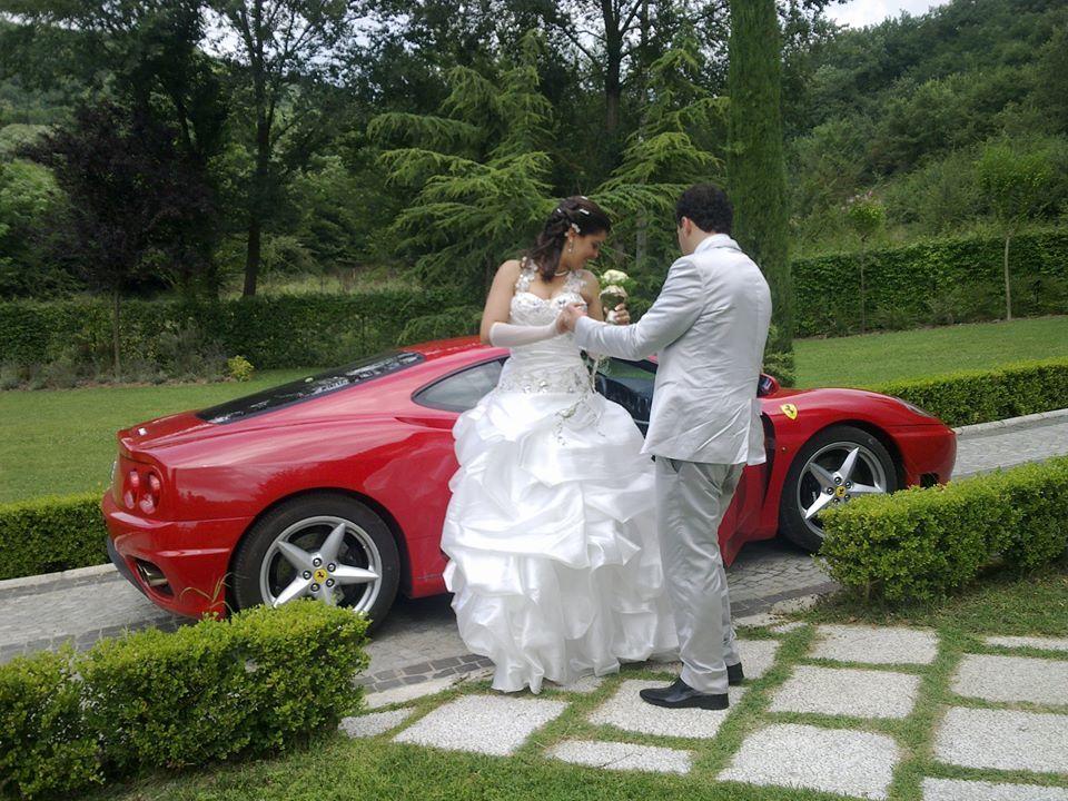 La nostra Ferrari 360 Modena per il Vostro Matrimonio!!!