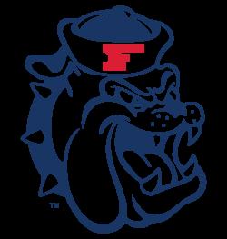 Retro Fresno State Bulldogs Retro College Apparel Fresno State College Logo Vintage Football