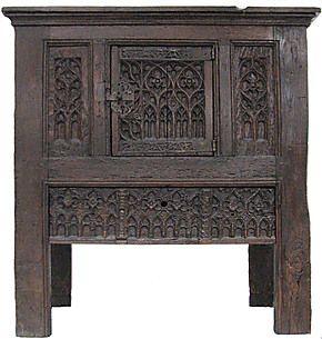 gothic buffet m bel mittelalter pinterest m bel. Black Bedroom Furniture Sets. Home Design Ideas