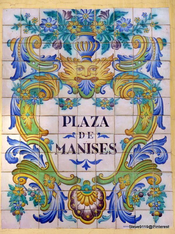 Plaza de manises valencia spain valencia spain Ceramica artesanal valencia