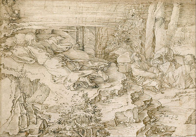 File:Albrecht Dürer - Agony in the Garden - Google Art Project.jpg