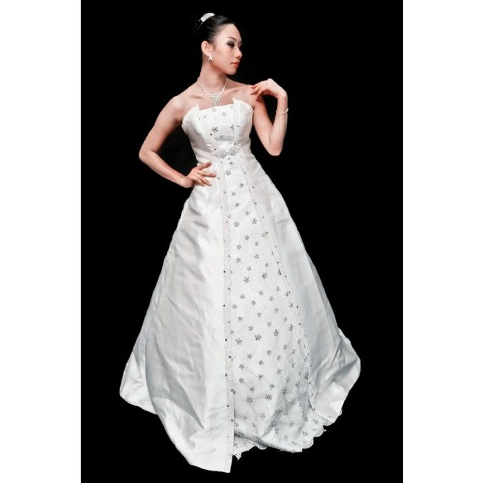 Chinese Classic Portrait Dresses Bridal Ball Gowns 33080 #white ...