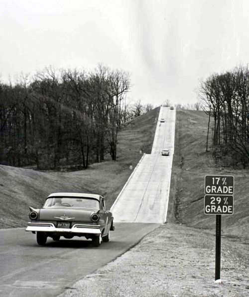 Ford test track in 1957