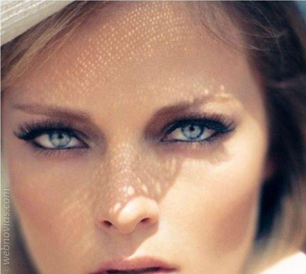 Belleza de novia: pestañas espectaculares www.webnovias.com/blog