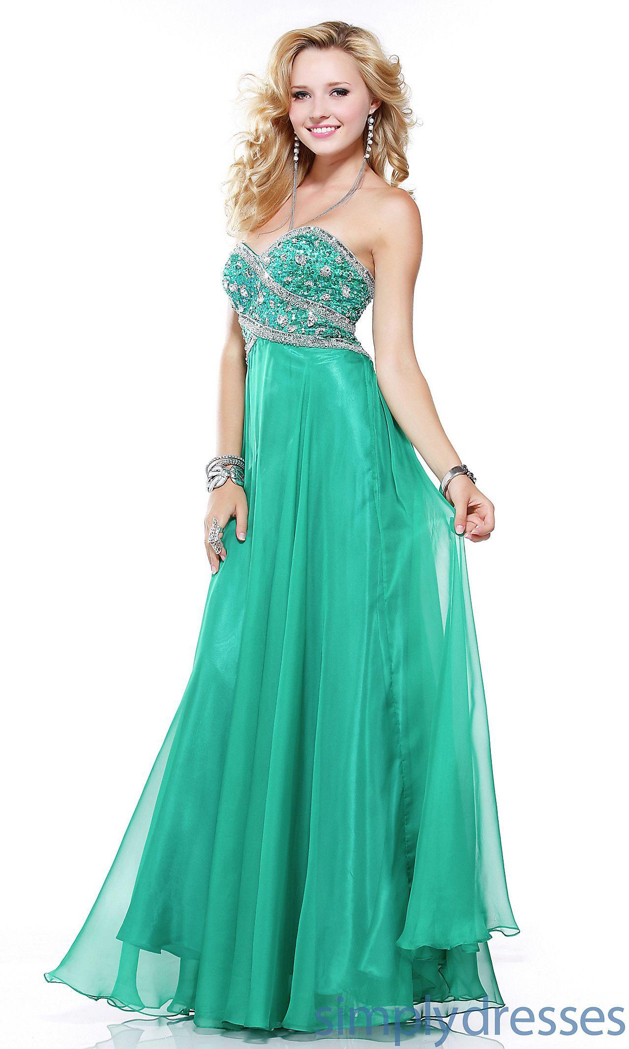 Long Strapless Sweetheart Scala Dress Q17076 Scala-Q17076 | Fashion ...