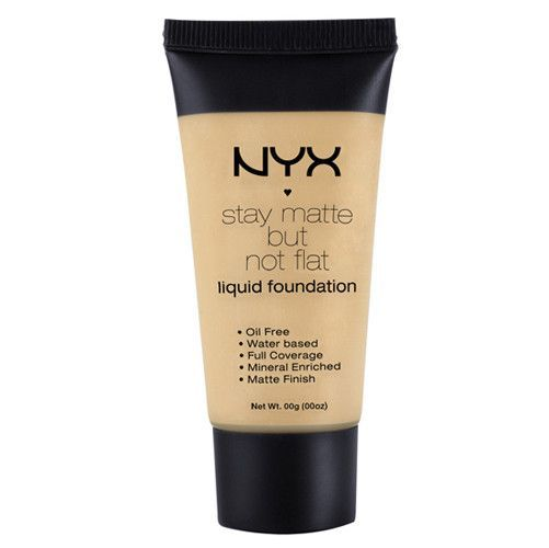 Nyx Stay Matte But Not Flat Liquid Foundation Natural Smf03