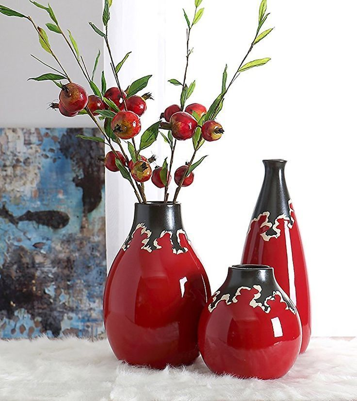 Decorative Chinese Porcelain Vase Flower Vase Handmade