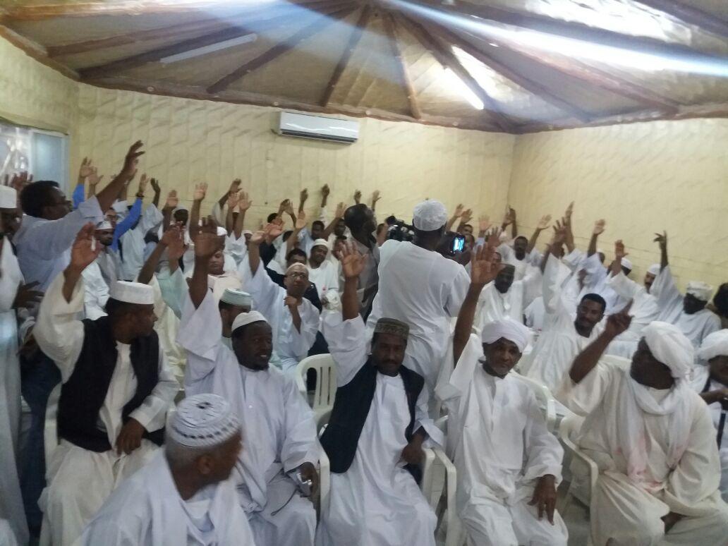 ضمت عناصر شابة في عضويتها:الرياضيون السودانيون بالسعودية ينتخبون لجنة تنفيذية جديدة