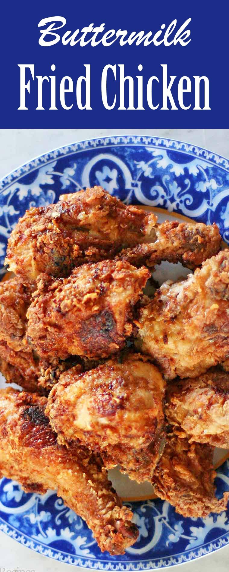 Buttermilk Fried Chicken Recipe A Southern New Year Chicken Recipes Yummy Chicken Recipes Buttermilk Fried Chicken