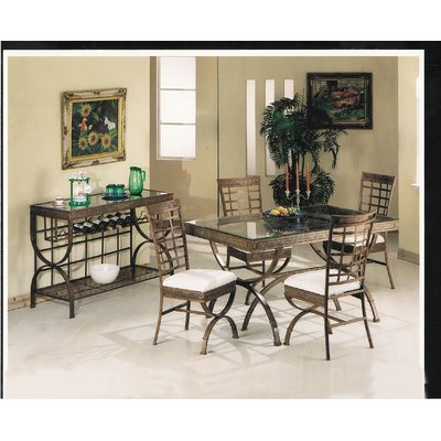 A J Homes Studio Cleopatra Dining Table Dining Table Dining