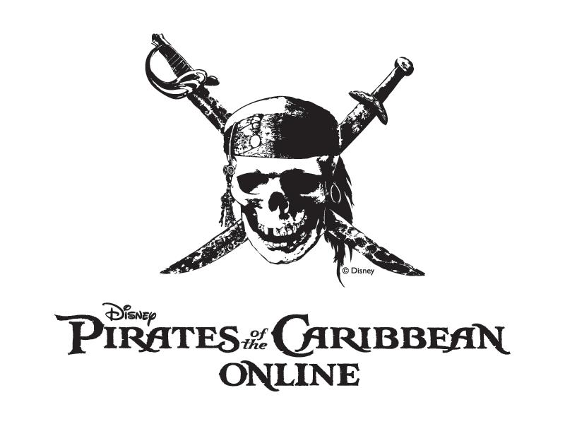 Pirates Of The Caribbean Pirates Of The Caribbean Pirates Disney Logo