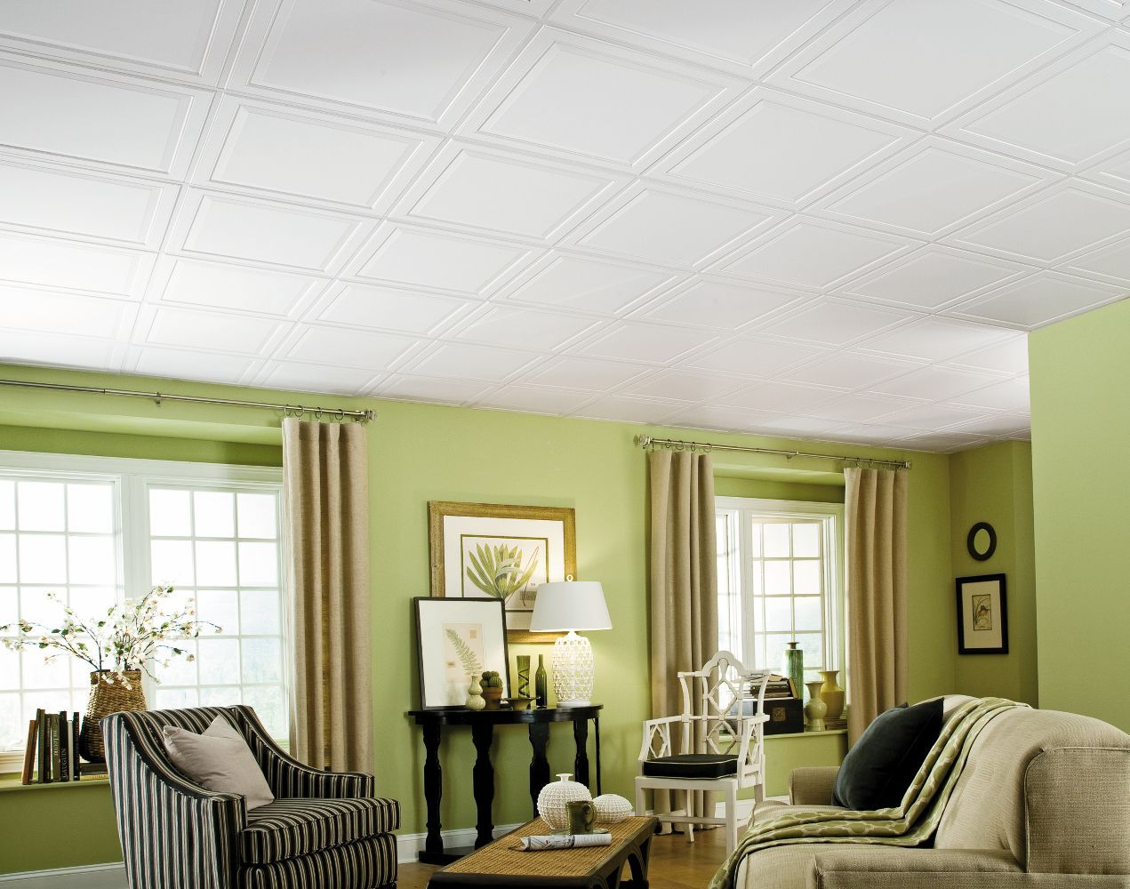 1210 Single Raised Panel Is A Paintable Ceilings By Armstrong The