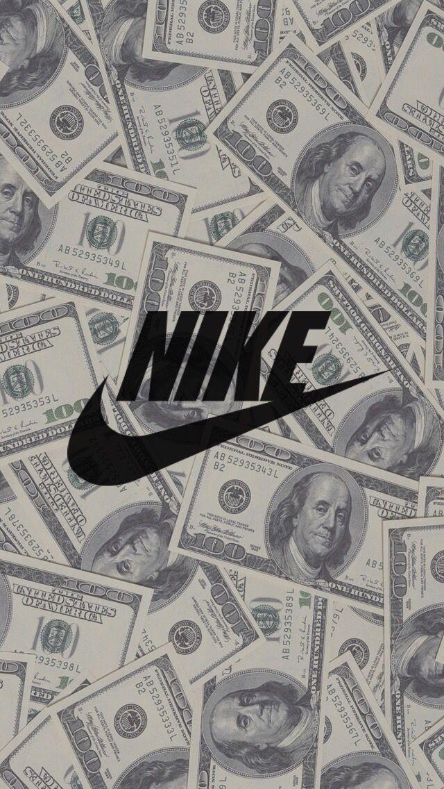 Nike Money Wallpaper Papel De Parede Da Nike Papel De