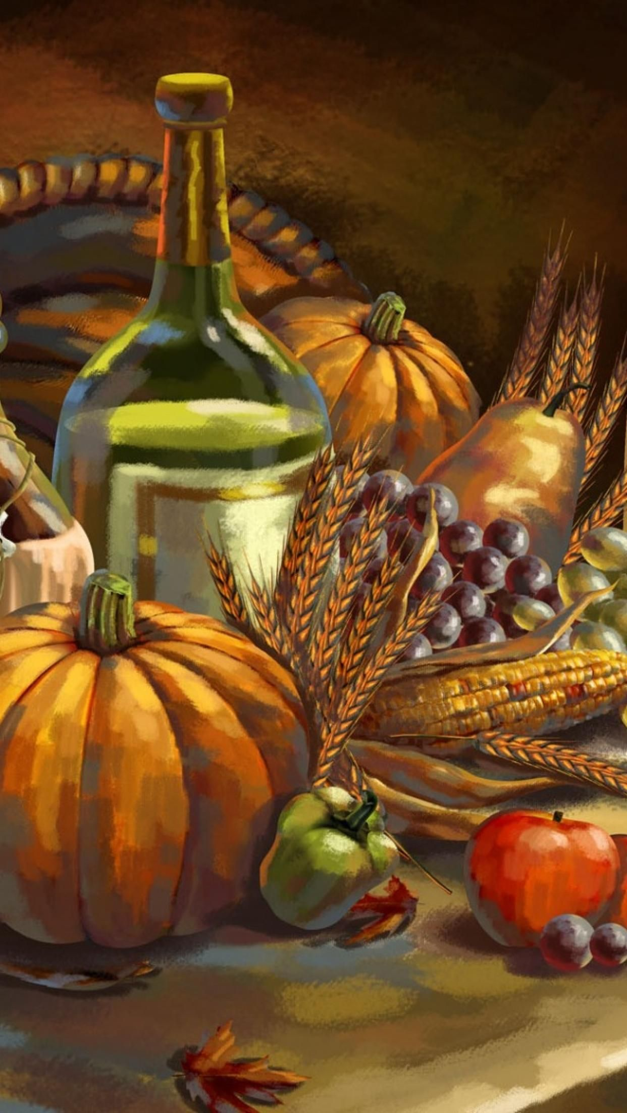 iphone 6 retina wallpaper Thanksgiving wallpaper