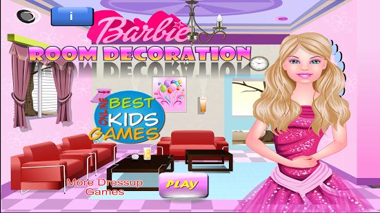 Astounding Barbie Room Decoration Android Game For Girls Bokg Home Interior And Landscaping Ologienasavecom