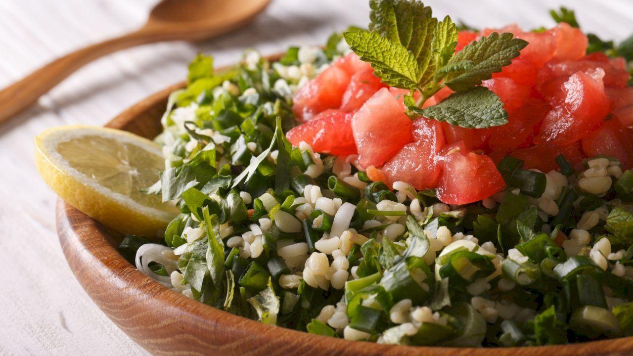 كيفية عمل تبولة Fruit Tabbouleh Food