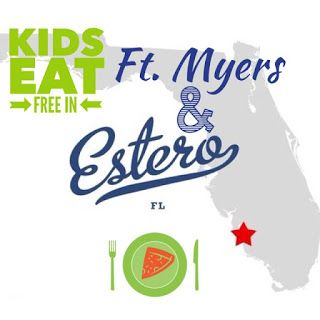 Kids Eat Free Restaurants in Estero and Ft. Myers Florida #FtMyers