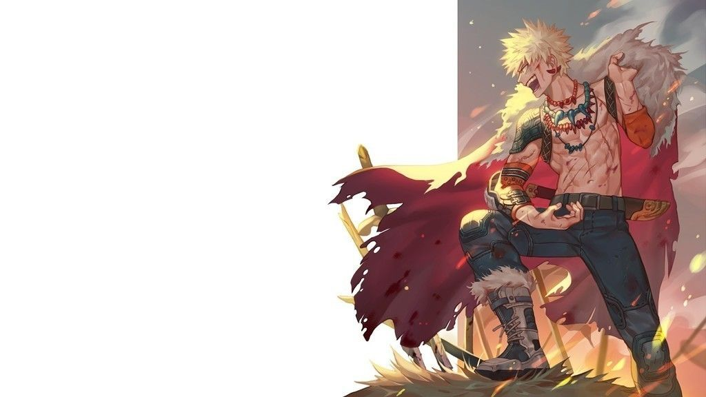 Happy Katsuki Bakugou, Boku no Hero Academia, anime, anime