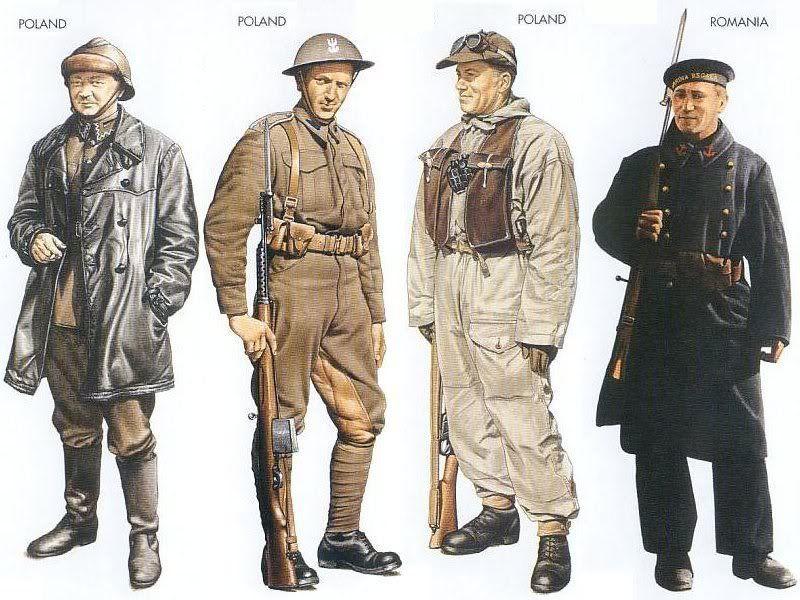 World War II Uniforms - Poland – 1939 Sep., Poland, Tank ...